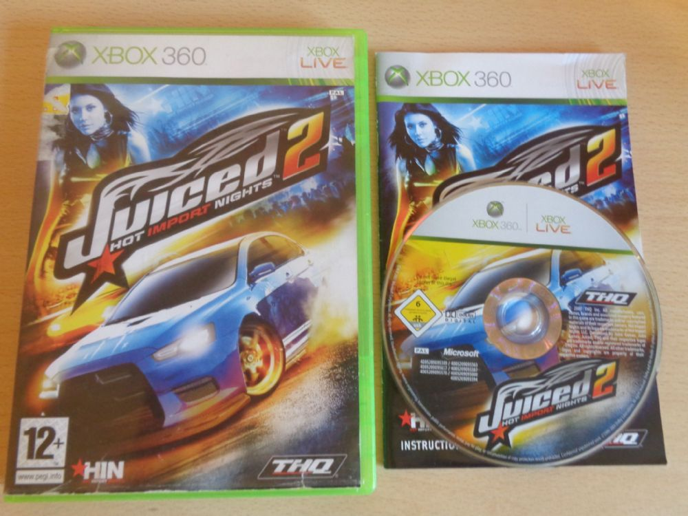 Juiced 2 Hot Import Nights (Xbox 360)